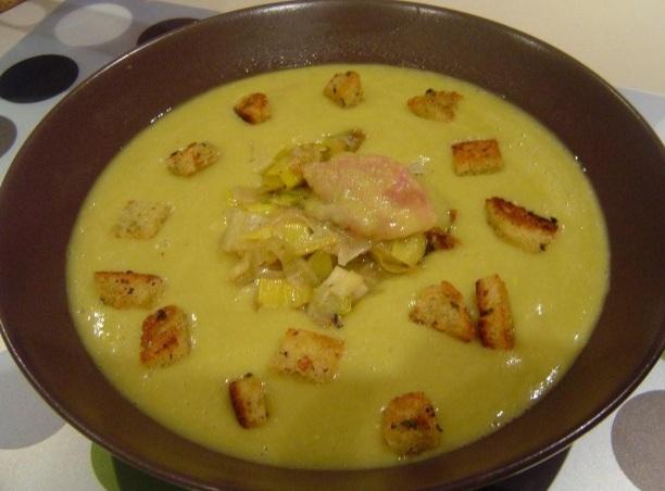 Гороховый суп-пюре по-голландски