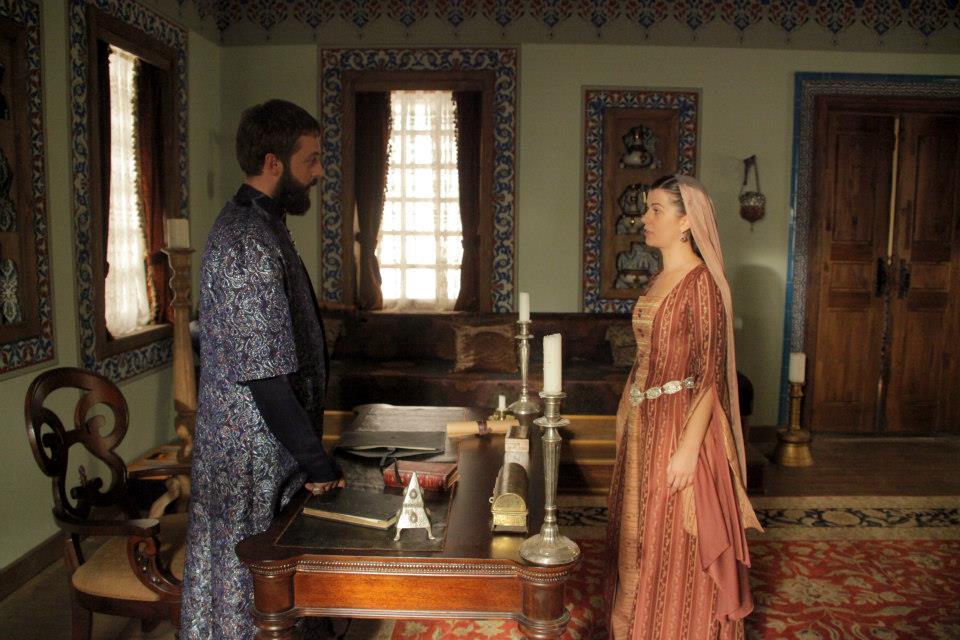 Сериал Великолепный век 3 сезон - Ибрагим паша и Нигяр калфа
