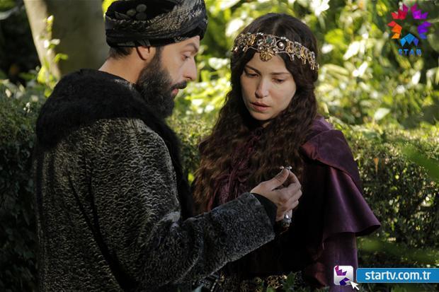 Сериал Великолепный век 3 сезон - Ибрагим паша и Хатидже