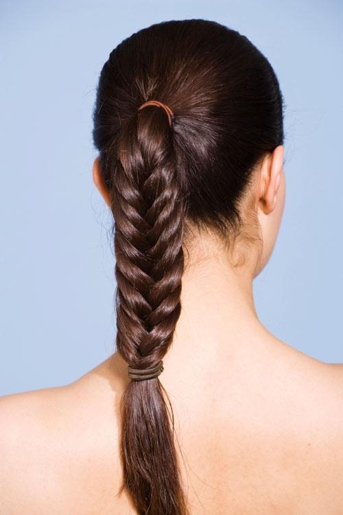 Причёски с хвостом в школу