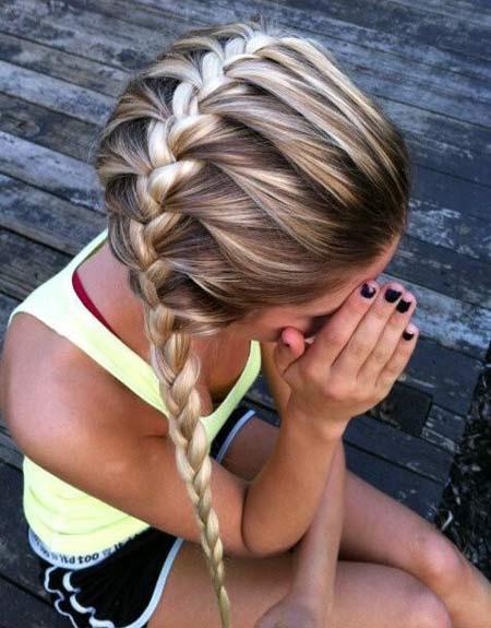 Прически блондинок каждый день