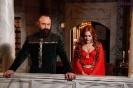 Великолепный век сериал - Сулейман и Хюррем на балконе