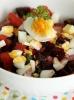 Салат из свеклы с яйцами, сваренными вкрутую