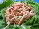 Капустный салат с соусом