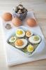 Яйца мимоза с тунцом