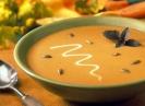 Крем-суп из тыквы с двумя сырами