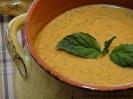 Пряный сырный суп-пюре