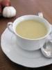 Жидкий сырный суп с луком