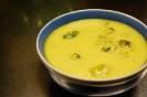 Легкий сырный суп с брокколи