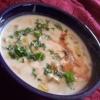 Крем-суп с голубым сыром