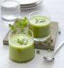 Суп из свежего горошка с лаймом и кориандром