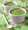 Гороховый суп-пюре с зеленой спаржей