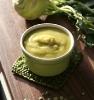 Гороховый суп с кольраби
