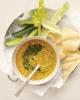 Нежный суп-пюре из нута с кориандром
