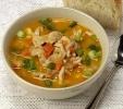 Китайский куриный суп
