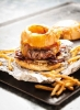 Бургер барбекю «Курящий грузовик»