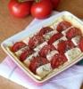 Тарт с помидорами и моцареллой