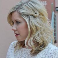Локоны на средние волосы: квинтэссенция женственности