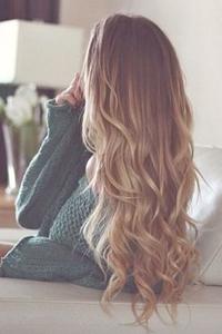 картинки со свело русыми волосами сзади