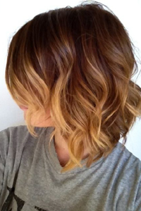 как получить окраску волос омбре на модных стрижках