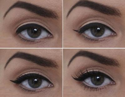 Как сделать макияж что глаза казались большими 320