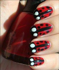 Модные рисунки на ногтях при помощи иголки – дизайн своими руками рекомендации