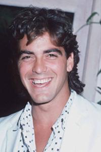 прически знаменитостей Джордж Клуни