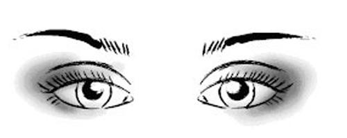 макияж глаз разных форм