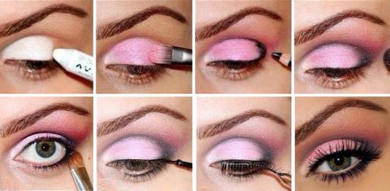 Косметика для зелёных глаз