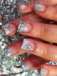 новогодние рисунки на ногтях