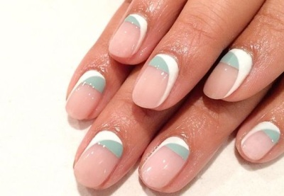 гелевый дизайн ногтей