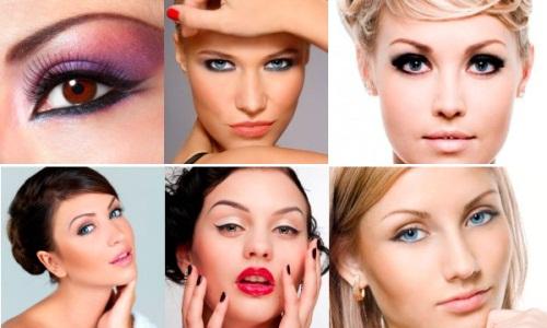 сексуальный макияж