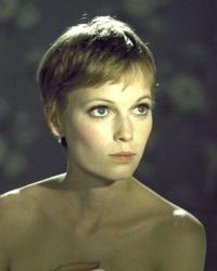 модели коротких женских стрижек Mia Farrow