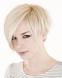 женские короткие стрижки на жидкие волосы