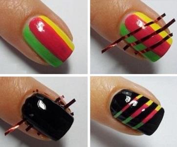 Покраска ногтей гель лаком в домашних условиях, фото и 26