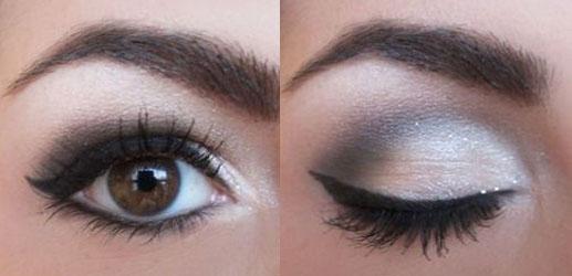 Как сделать макияж что глаза казались большими 610