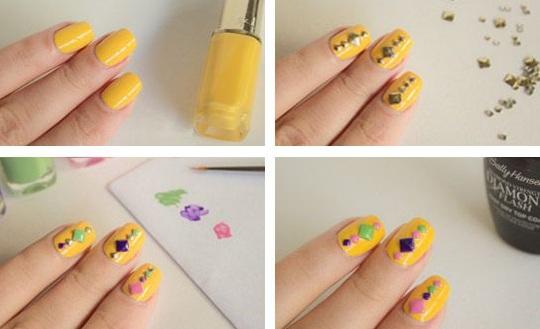 дизайн ногтей хитрости