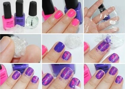 Покраска ногтей гель лаком в домашних условиях, фото и 57