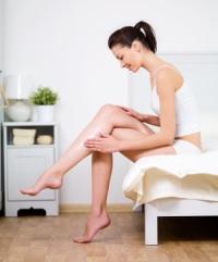 Крем для ног - против запахов, шелушения и трещин
