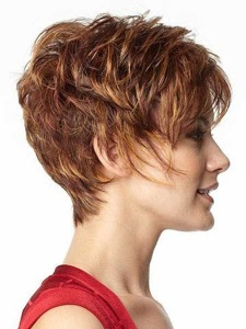 Долговременная прическа на короткие волосы
