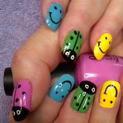 Что можно несложное нарисовать на ногтях