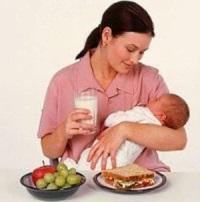 питание в период грудного вскармливания