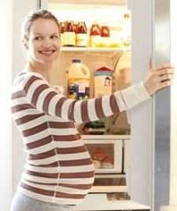 нездоровое питание во время беременности