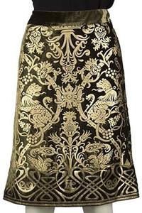 юбка парча