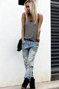рваные джинсы 2014