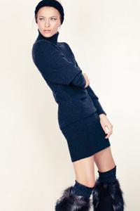 трикотажные платья 2014