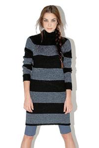 Вязаные платья — средство выглядеть модно