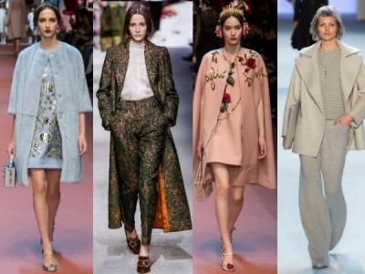 модные пальто в тоне с одеждой осень зима 2015 2016