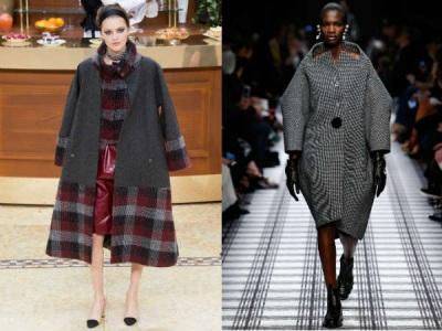 модные объемные пальто осень зима 2015 2016
