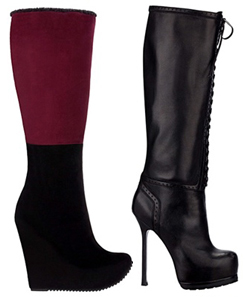 новые модели дизайнерской обуви 2013 Yves Saint Laurent